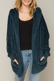 Gifted Hooded Bear Coat - Front cropped