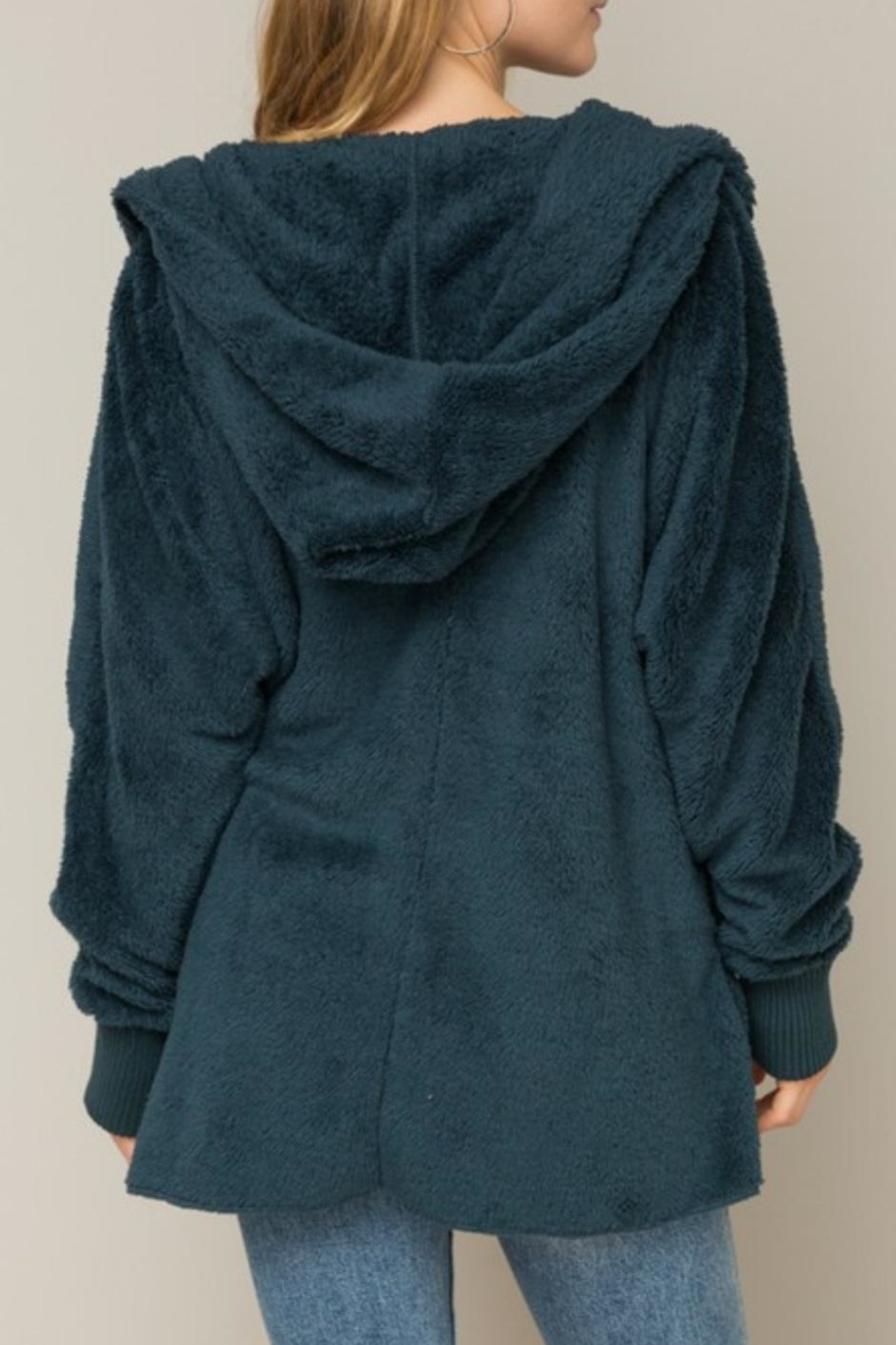 Gifted Hooded Bear Coat - Side Cropped Image