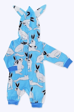 Shoptiques Product: Hooded Bouncy Bunny Romper