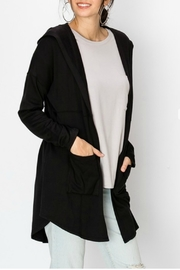 Starrs On Mercer Hooded Cardi - Front cropped