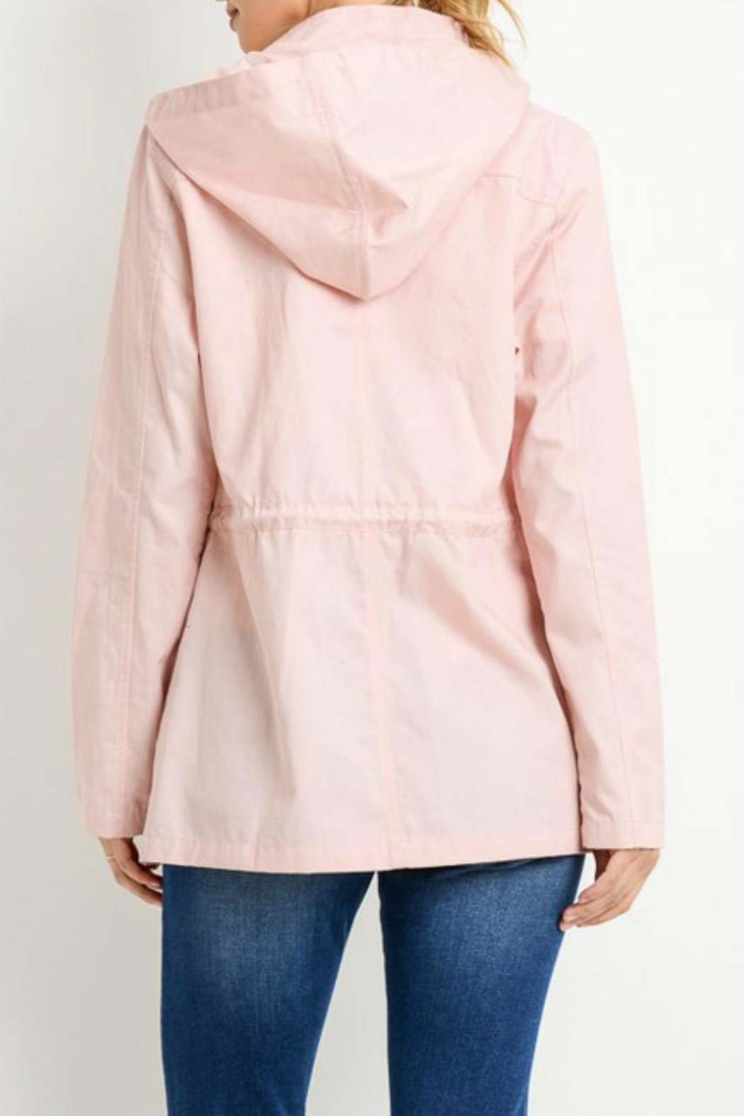 C'Est Toi Hooded Cotton Anorak - Side Cropped Image