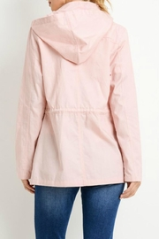C'Est Toi Hooded Cotton Anorak - Side cropped