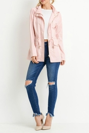 C'Est Toi Hooded Cotton Anorak - Back cropped