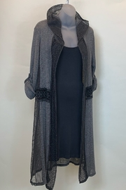 SCANDAL HOODED DUSTER KNIT - Product Mini Image