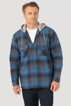 Shoptiques Product: Hooded Flannel Jacket