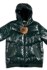 COZY COOP  Hooded Jacket Perfect puffer jacket for kids - Front cropped