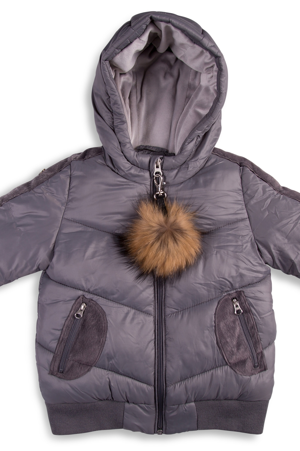 COZY COOP  Hooded Jacket Perfect puffer jacket for kids - Front Cropped Image