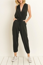 Le Lis Hooded Jumpsuit - Product Mini Image