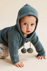 Wilson and Frenchy Hooded Knitted Jumper - Product Mini Image