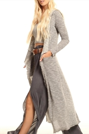 Lucy Love Hooded Maxi Sweater - Product Mini Image