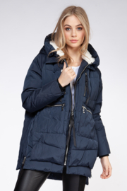 Dex Hooded Parka Jacket - Product Mini Image