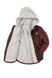 Appaman Hooded Plaid - Front full body