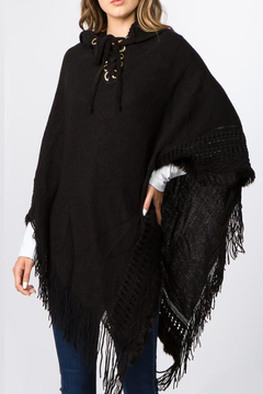 Patricia's Presents Hooded Poncho - Alternate List Image