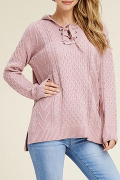 LuLu's Boutique Hooded Sweater - Product List Image