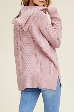 LuLu's Boutique Hooded Sweater - Alternate List Image