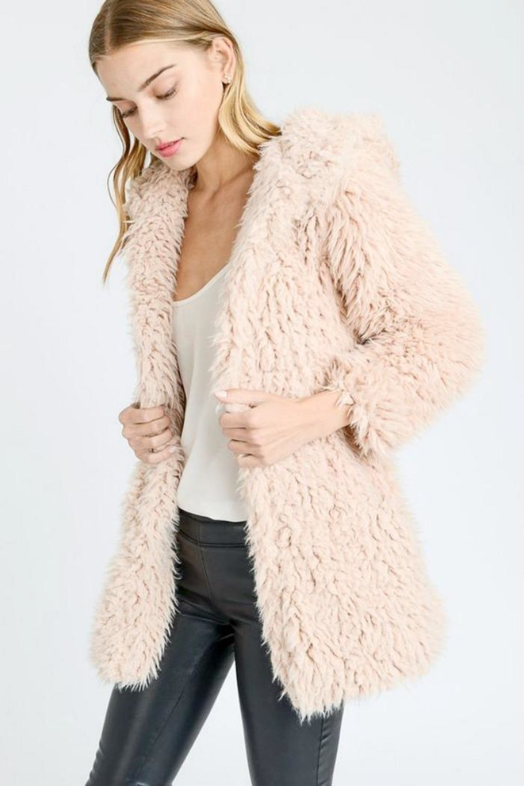 a1d522a89789 Love Tree Hooded Teddy Coat from Seattle by SIMPLY CHIC — Shoptiques