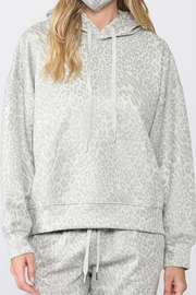 Fate Hooded Top with Animal Print and Mask - Product Mini Image