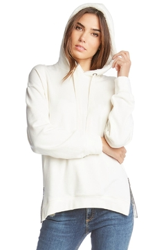 Shoptiques Product: Hooded Zip Sweathshirt