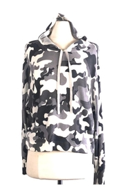 Central Park West Hoodie Grey Camouflage - Product Mini Image