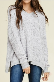 Staccato Hoodie Pullover Sweater - Product Mini Image