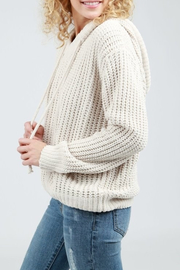 Pol Cloth Hoodie Sweater - Front full body