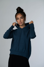 Meli by FAME Hoodie Sweater - Front cropped