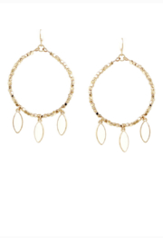 US Jewelry House Hoop Dangle Earring - Product Mini Image