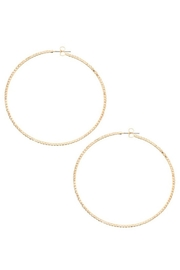 Andrea Bijoux Hoops Luxe - Front cropped