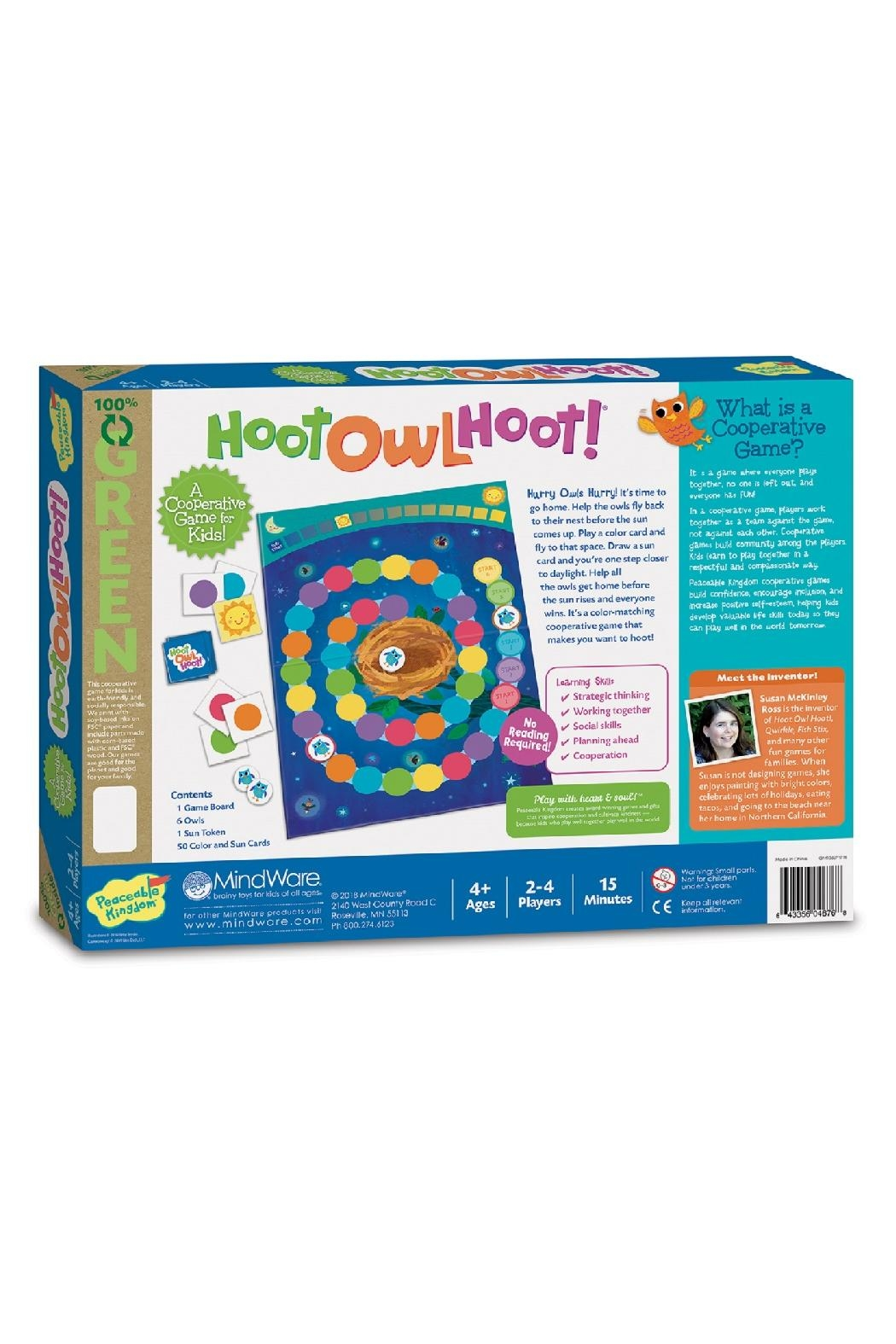 Peaceable Kingdom Hoot Owl Hoot - Front Full Image