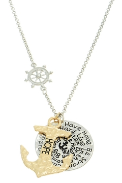 Mimi's Gift Gallery Hope Anchor Necklace - Alternate List Image