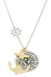 Mimi's Gift Gallery Hope Anchor Necklace - Product Mini Image