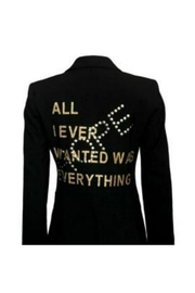HIPCHIK  Hope Black Blazer - Product Mini Image