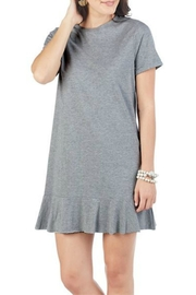 Mud Pie Hope Flounce T-Shirt-Dress - Front cropped