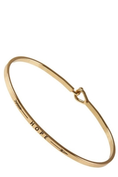 ICCO Hope Gold Bracelet - Alternate List Image