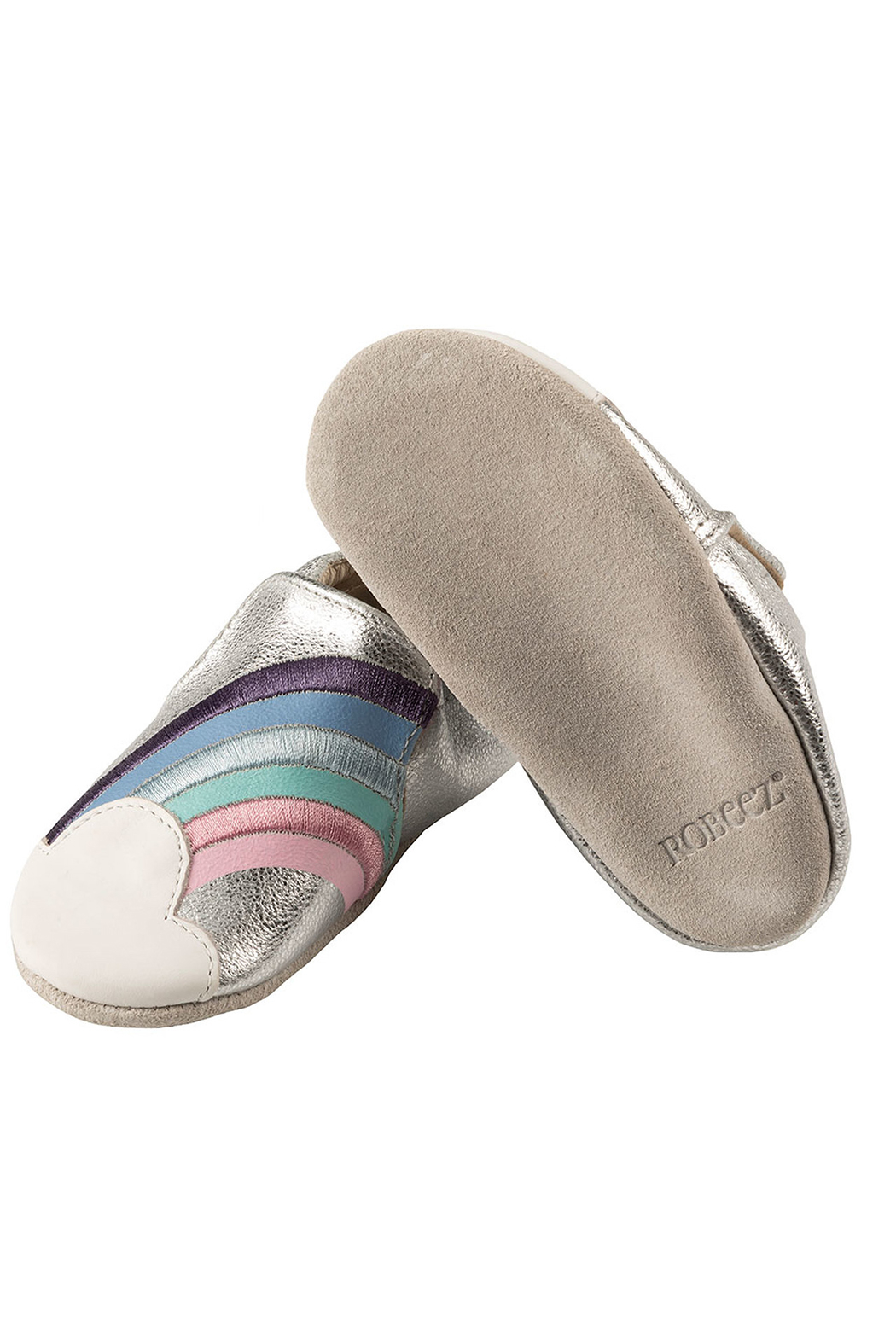Robeez Hope Soft Soles Baby Shoes - Side Cropped Image