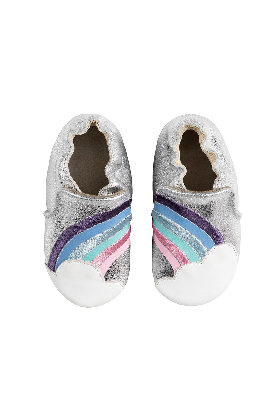 Robeez Hope Soft Soles Baby Shoes - Front Full Image