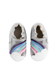 Robeez Hope Soft Soles Baby Shoes - Front full body