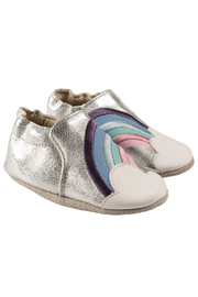 Robeez Hope Soft Soles Baby Shoes - Front cropped