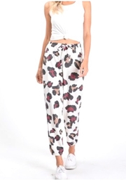 Hopely Animal Print Jogger Pants - Product Mini Image