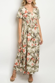 Hopely Ivory Floral Maxi - Product Mini Image