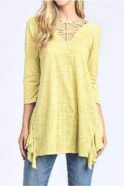 Hopely Mustard Top - Product Mini Image