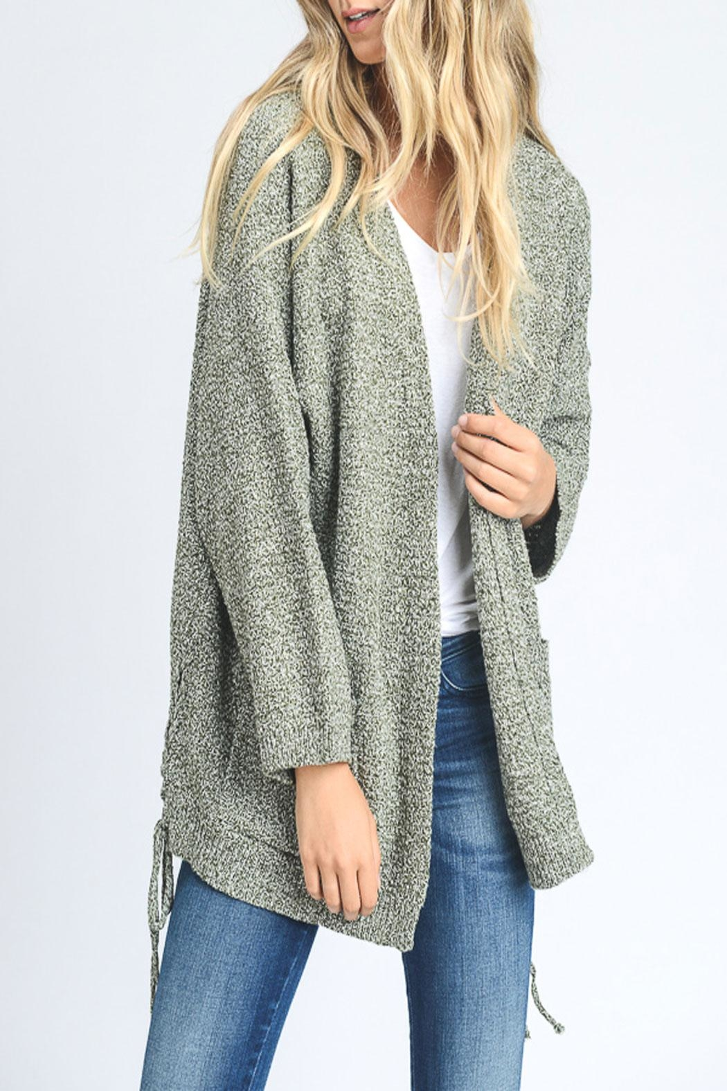 Hopely Side-Tie Cardigan - Main Image