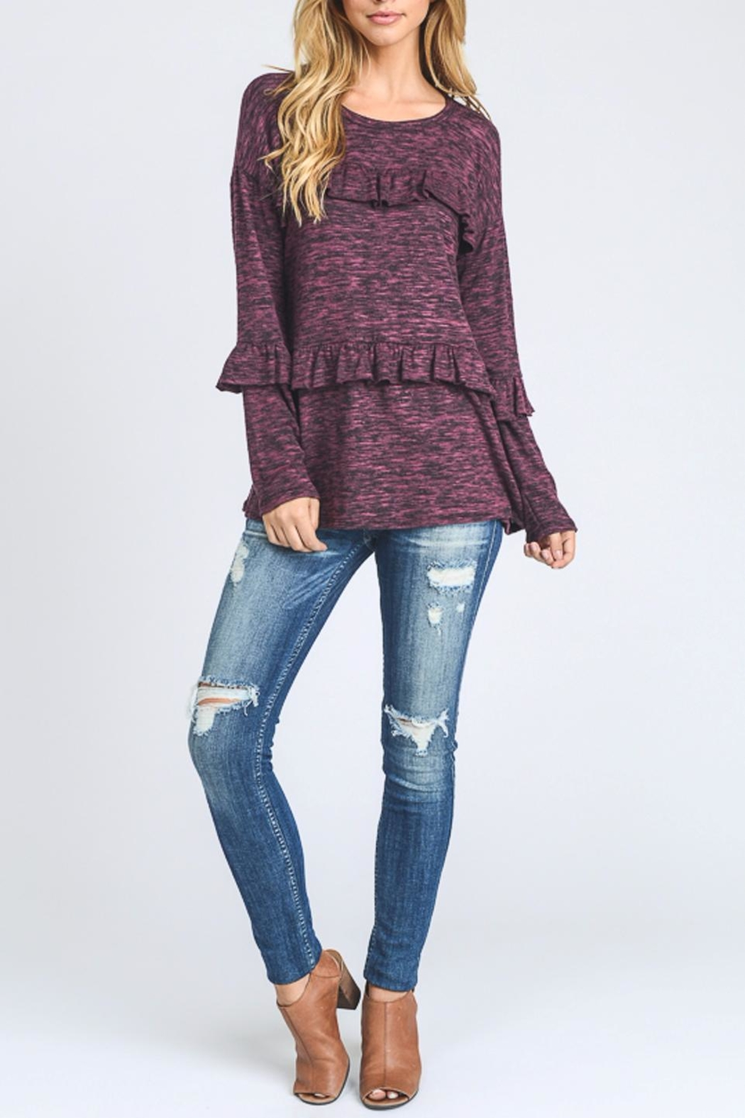Hopely Top With Ruffles - Main Image