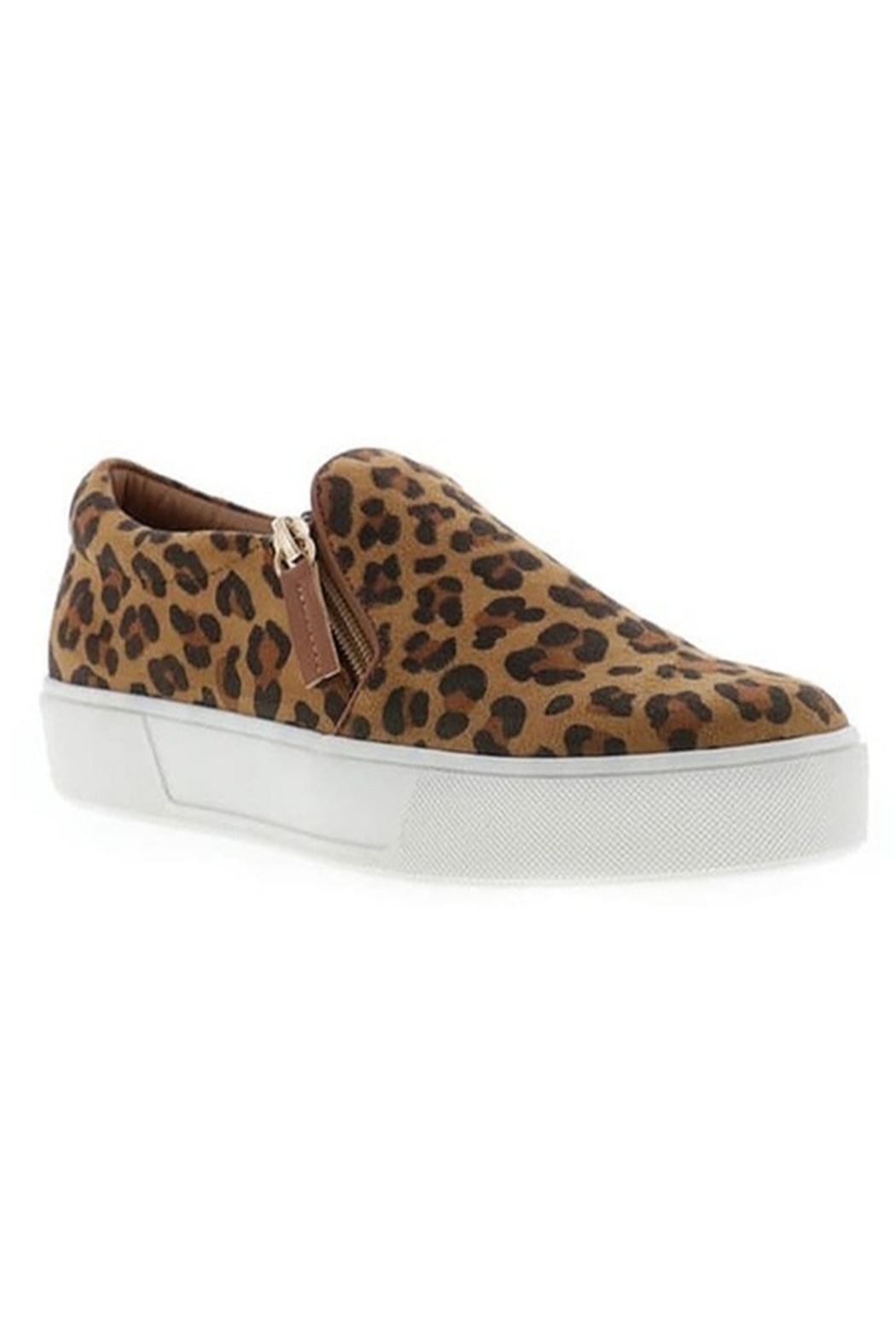 Volatile Hopper Leopard Sneaker - Front Cropped Image