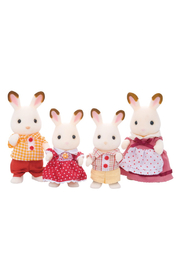 Calico Critters Hopscotch Rabbit Family - Front cropped