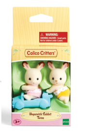 Calico Critters Hopscotch Rabbit Twins - Front full body