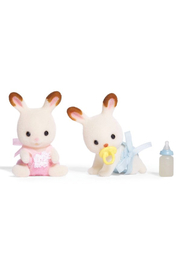 Calico Critters Hopscotch Rabbit Twins - Front cropped