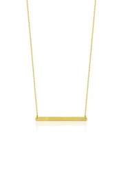 Maison Irem Horizon Bar Necklace - Front cropped