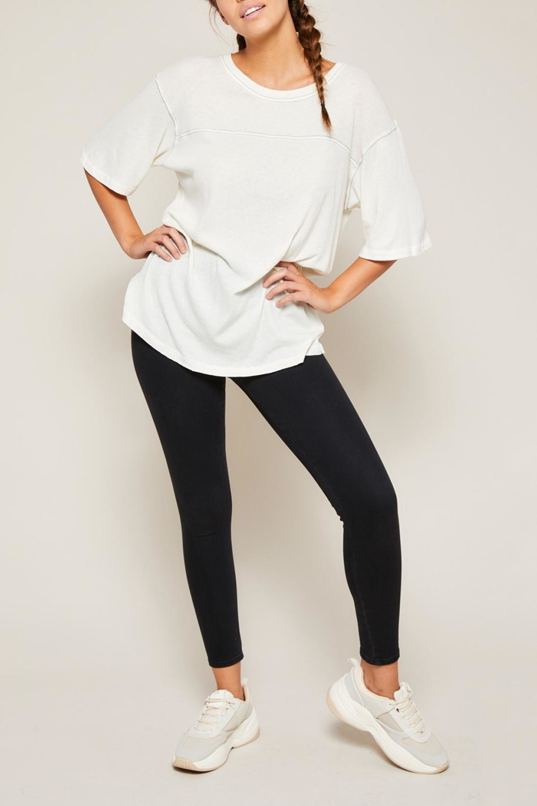 All Things Fabulous Horizon Jersey Tee - Side Cropped Image
