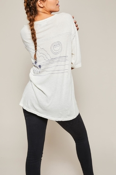 All Things Fabulous Horizon Jersey Tee - Product List Image